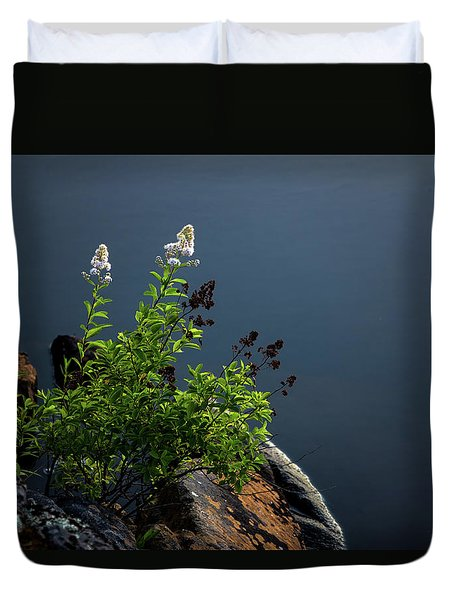 By The Edge Duvet Cover by Peter Scott
