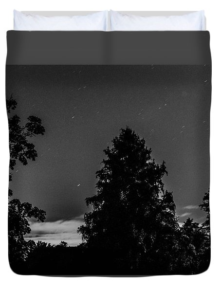 By The Light Of The Moon Duvet Cover by Bruce Pritchett