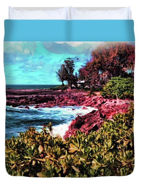 By The Sea 18 Duvet Cover