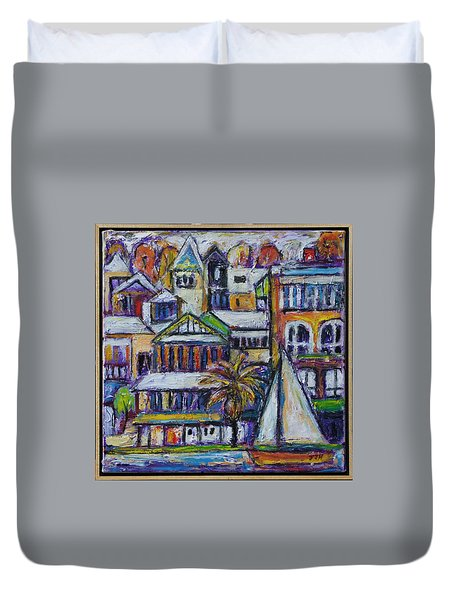 By The Water - Freo Duvet Cover
