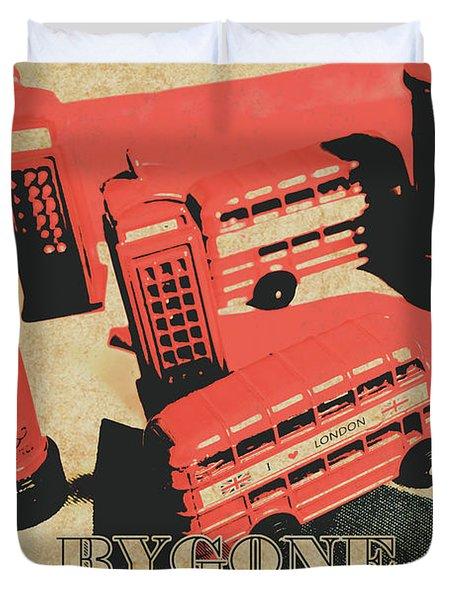 Bygone Britain 1983 Duvet Cover