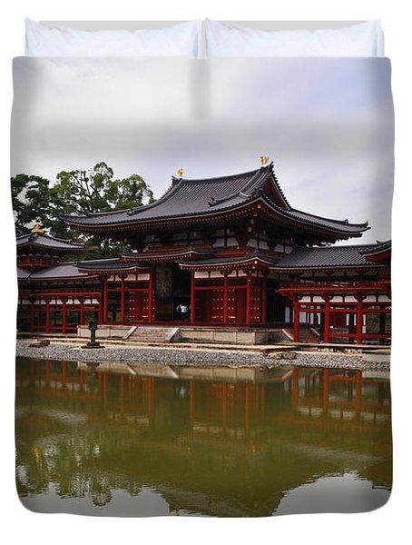 Byodoin Temple Duvet Cover