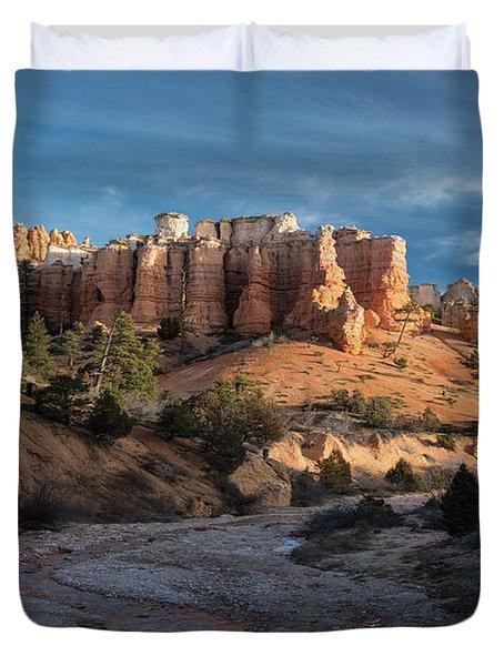 Byrce Canyon Sunrise Utah Duvet Cover