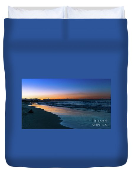 Byron Bay After The Sun Sets Duvet Cover