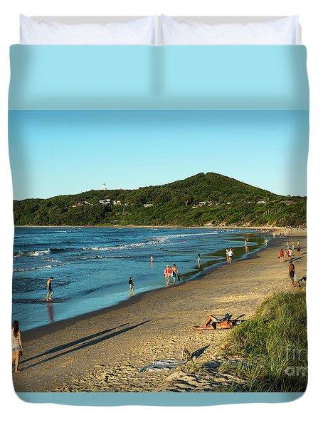 Byron Bay Main Beach Duvet Cover