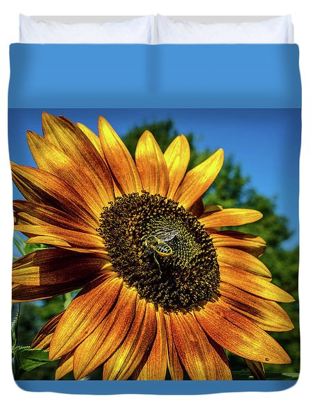Bzz-y Day Duvet Cover