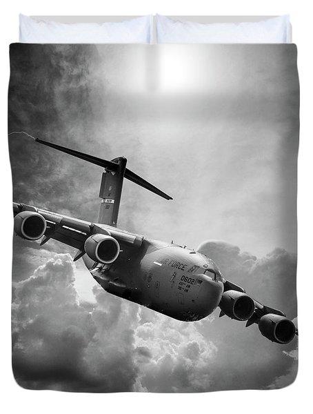 C-17 Globemaster Duvet Cover