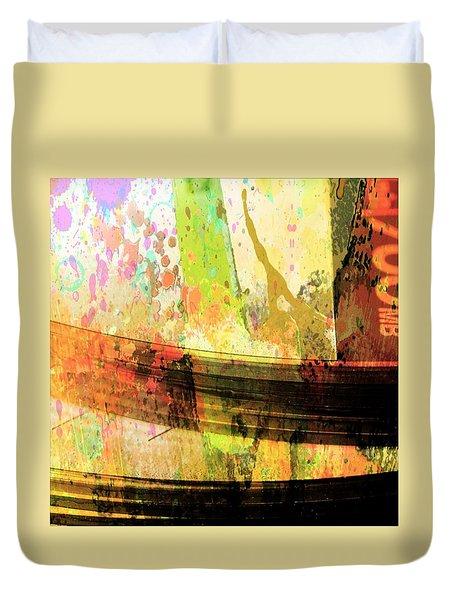 C D Art Duvet Cover by Bob Pardue
