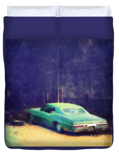 The Old Car Duvet Cover