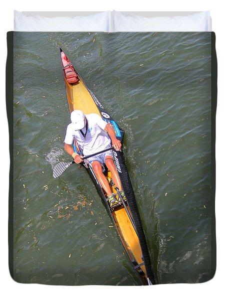 C1 Canoe Racer Duvet Cover