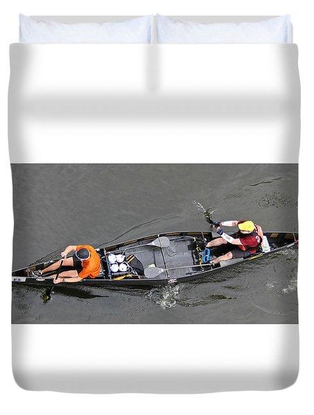 C2 Racers Duvet Cover