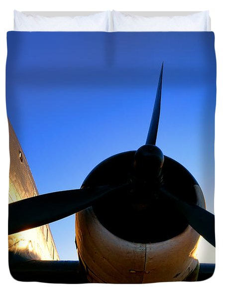C47 Sunset Duvet Cover