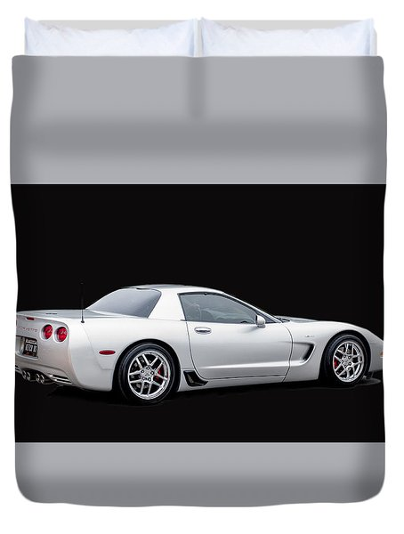 C6 Corvette Duvet Cover