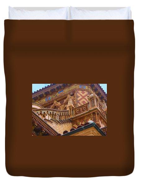 Ca' D'zan Detail Duvet Cover