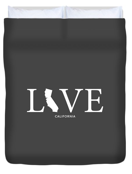 Ca Love Duvet Cover