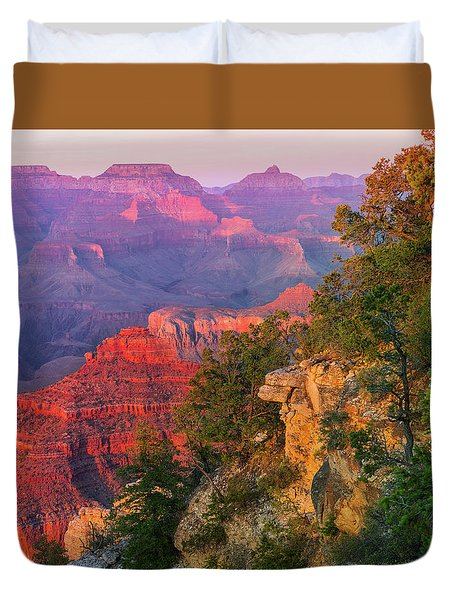 Canyon Allure Duvet Cover by Mikes Nature