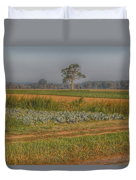 2009 - Cabbage And Pumpkin Patch Duvet Cover