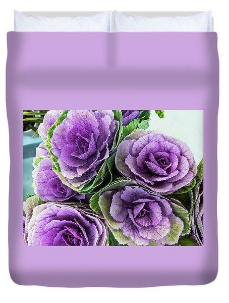 Cabbage Flower Duvet Cover