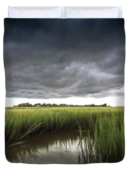 Cabbage Inlet Cold Front Duvet Cover