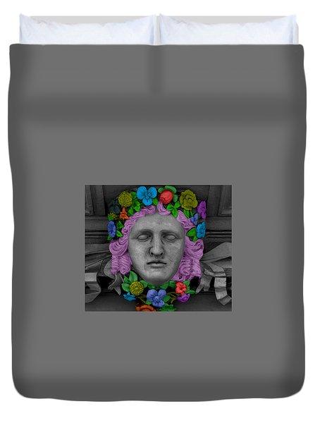 Cabeza Floreada Duvet Cover