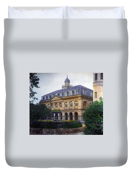 Cabildo In Color Duvet Cover
