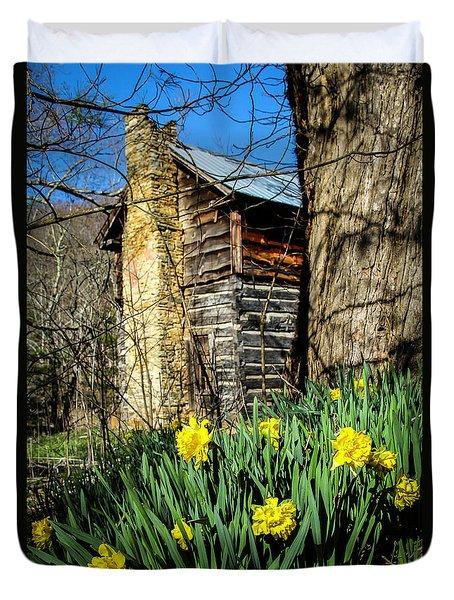 Cabin Spring Duvet Cover