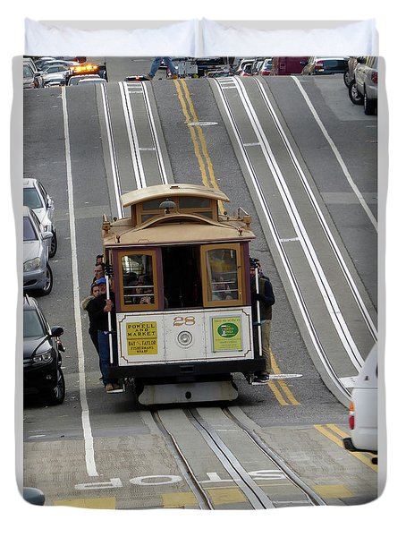 Cable Car Duvet Cover