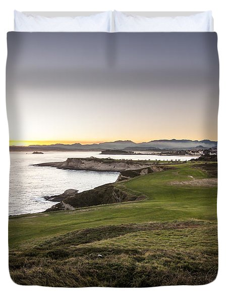 Cabo Mayor Duvet Cover by Santi Carral