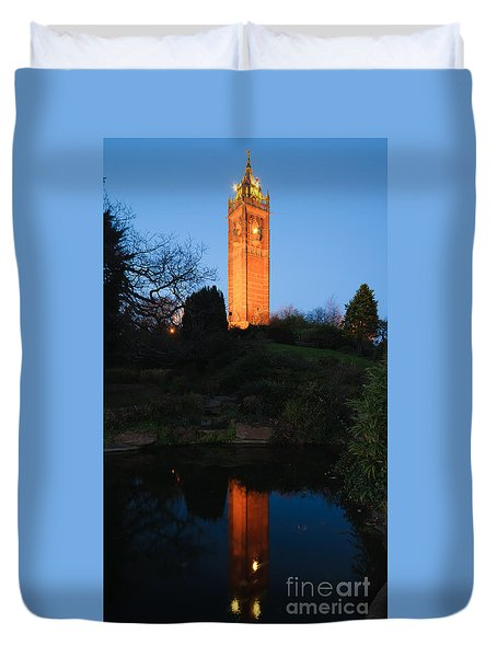 Cabot Tower, Bristol Duvet Cover