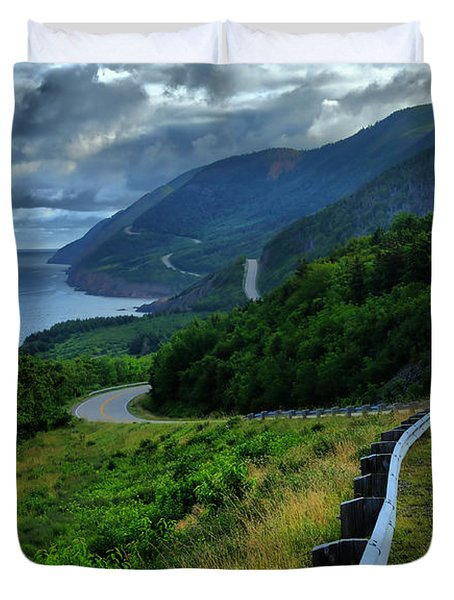 Cabot Trail Duvet Cover