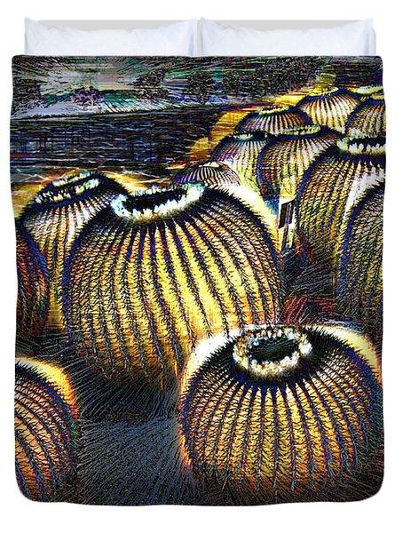 Cacto Lanterns Duvet Cover