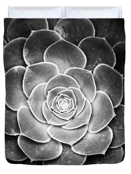 Cactus 18 Deep Bw Duvet Cover