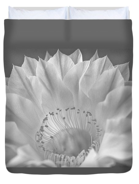 Cactus Bloom Burst Duvet Cover