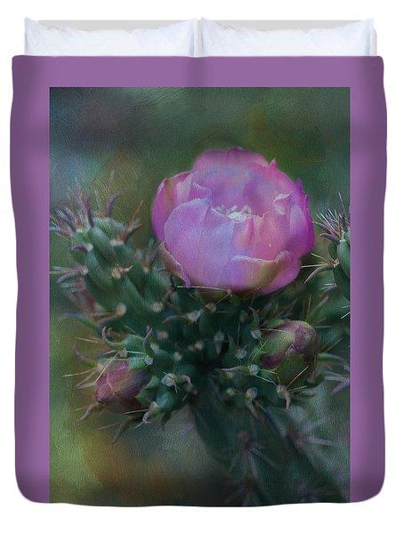 Cactus Bloom Duvet Cover