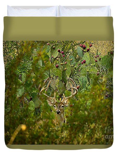 Cactus Buck Duvet Cover