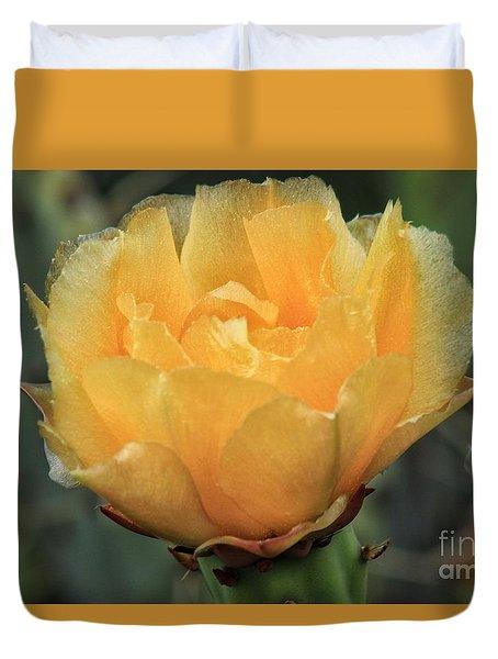 Cactus Flower 2016   Duvet Cover