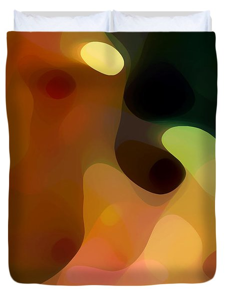 Cactus Fruit Duvet Cover by Amy Vangsgard