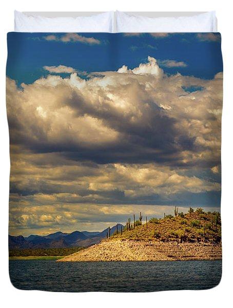 Cactus Island Duvet Cover