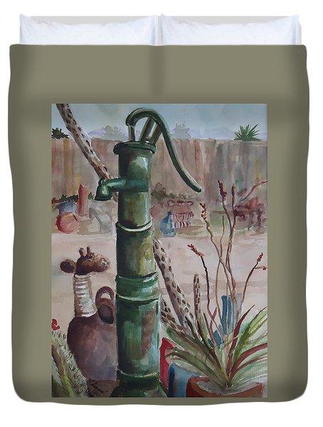 Cactus Joes' Pump Duvet Cover