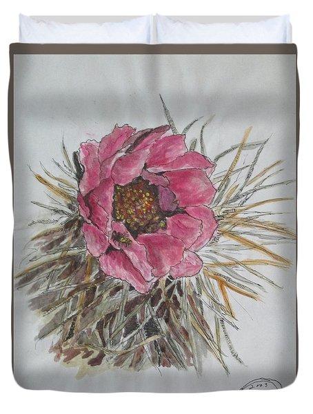 Cactus Joy Duvet Cover by Sharyn Winters