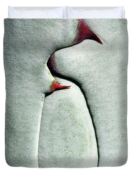 Cactus Lines Duvet Cover