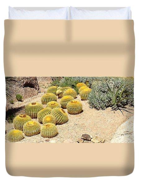 Cactus Parade Duvet Cover