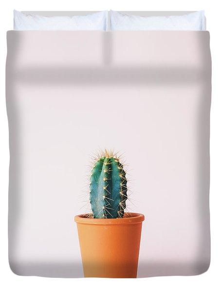 Cactus Pot Duvet Cover