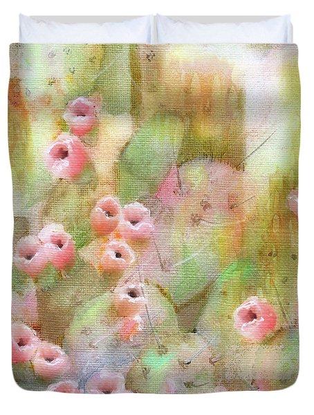 Cactus Rose Duvet Cover