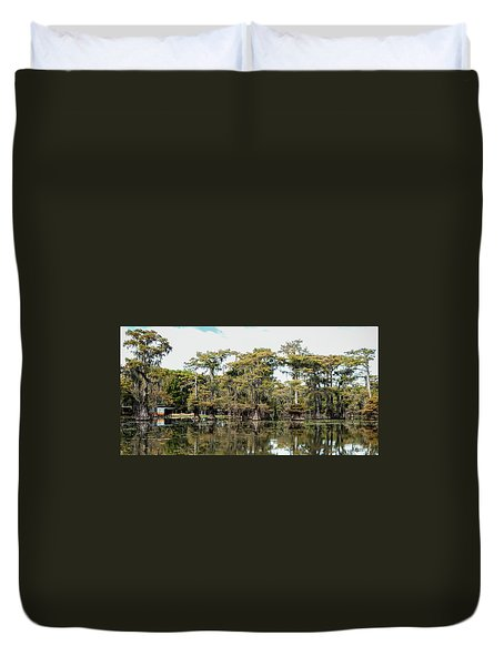 Caddo Bayou Duvet Cover