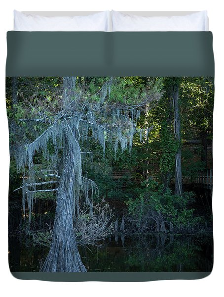 Caddo Lake #1 Duvet Cover