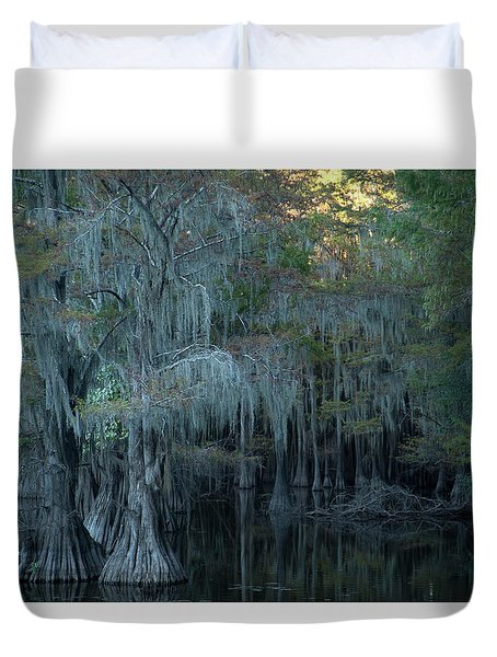 Caddo Lake #2 Duvet Cover