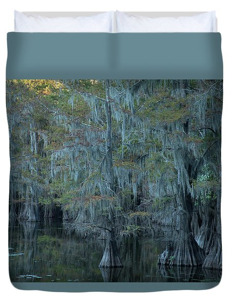 Caddo Lake #3 Duvet Cover