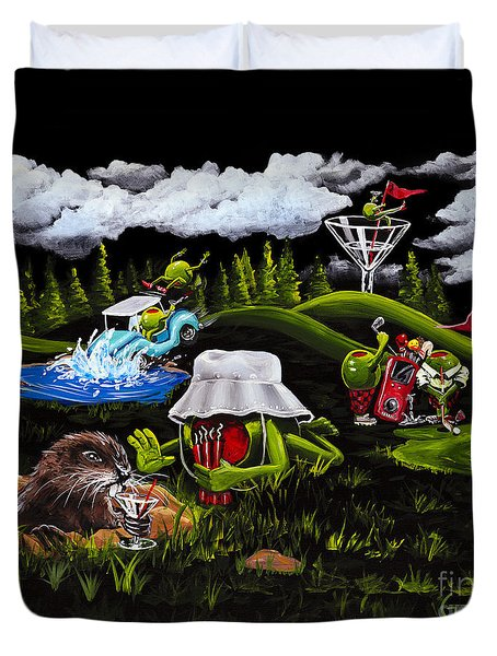 Caddy Shack Duvet Cover
