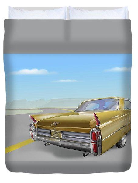 Cadillac De Ville Duvet Cover